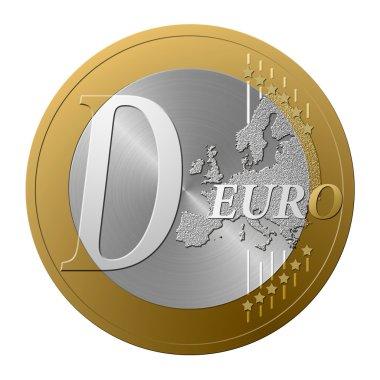 Euro font D