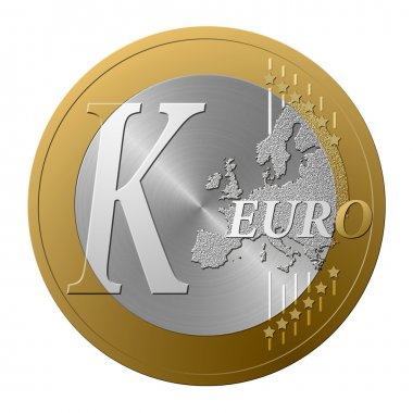 Euro font K