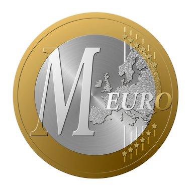 Euro font M