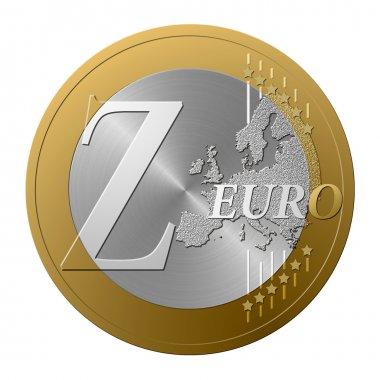 Euro font Z
