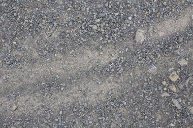 dirt, gravel road