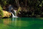 vodopády v topes de collantes, Kuba