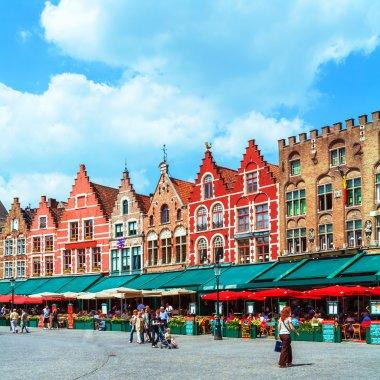 Vintage Homes on Market Square, Bruges