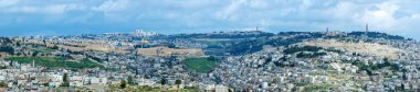 Panorama - Old City and Olives Mount, Jerusalem