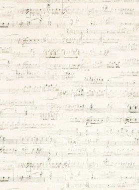 Music vintage wallpaper background