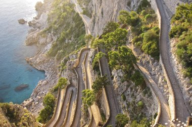 the beautiful Capri island, via Krupp