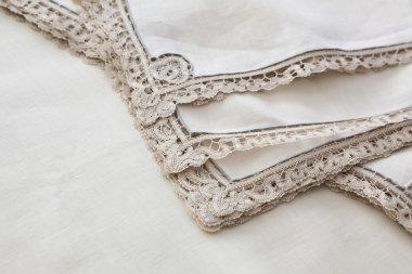 vintage lace napkins