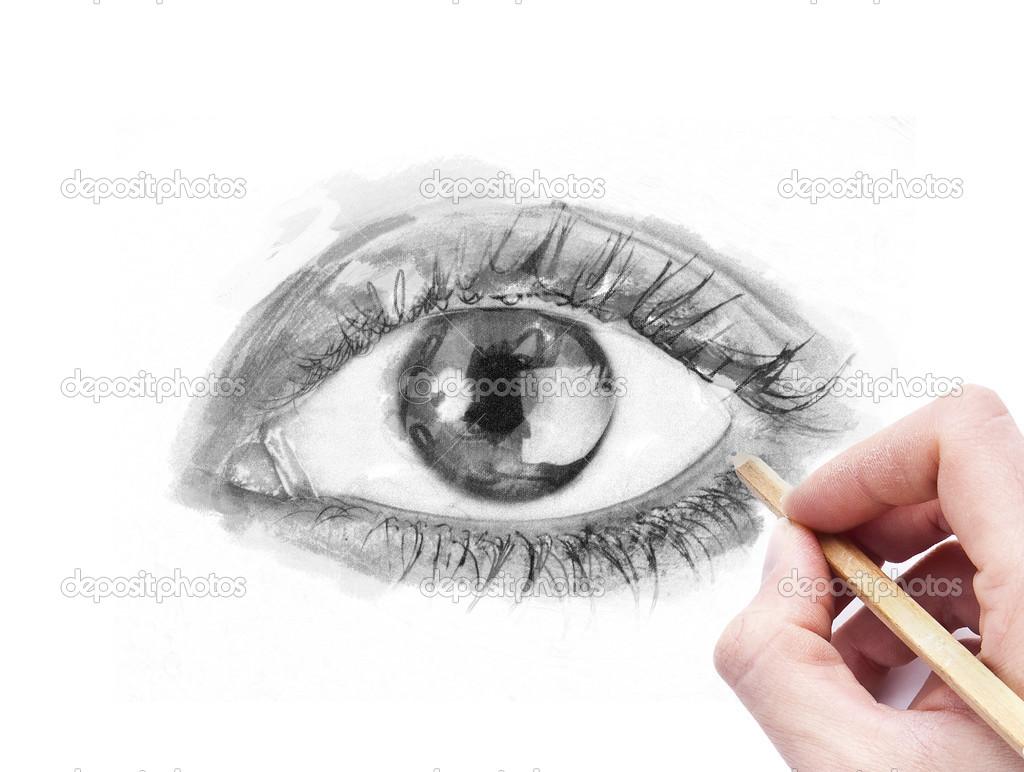 Kresleni Oko Tuzkou Stock Fotografie C Tommasolizzul 23097234