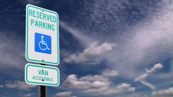 Handicap-Parkschild