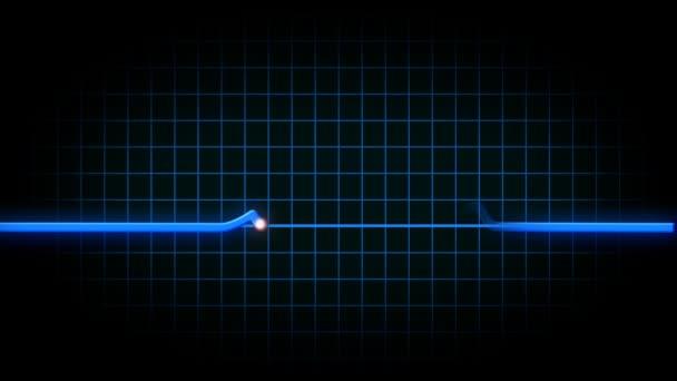 animovaný srdce monitorovat ekg flatlines