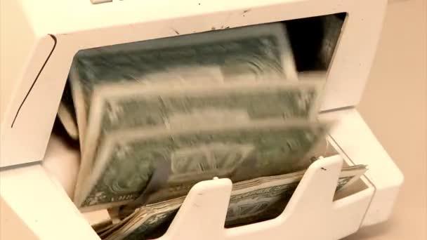 peníze počítání stroj