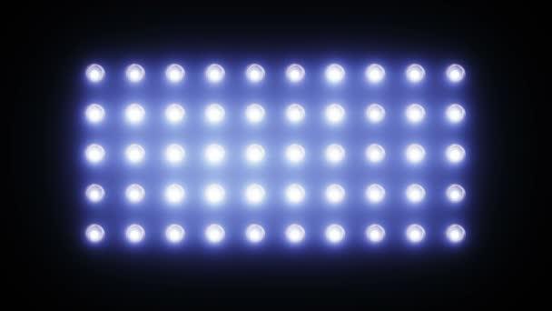 blikající, zářící světla stadion