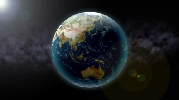 Earth Zoom to China