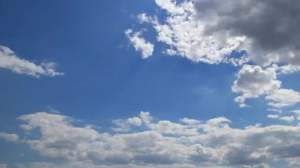 modrá obloha timelapse
