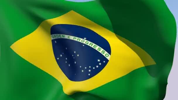 Flag of Brazil Federative Republic