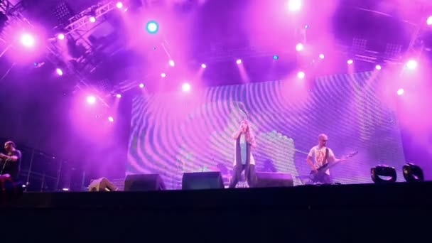 Guano Apes live performance at the rock festival The Best City