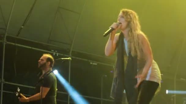 Live-Auftritt der Guano Affen beim Rockfestival die beste Stadt