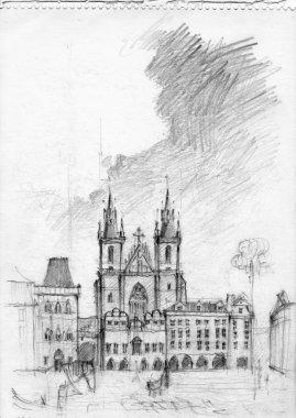 Tyn Church in Prague
