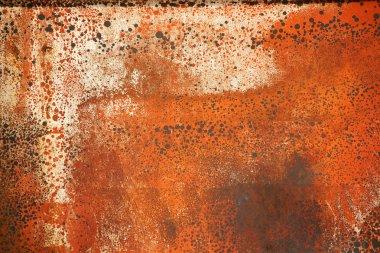 Steel plate rusted