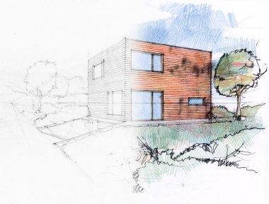 Illustration of a design process