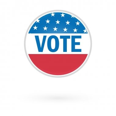 Presidential Election Vote Button