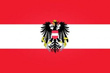 """Картина, постер, плакат, фотообои """"Флаг Австрии"""", артикул 13895163"""