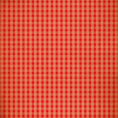 Red Grunge Plaid Design