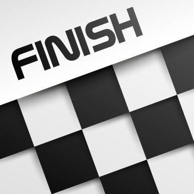 finish square template