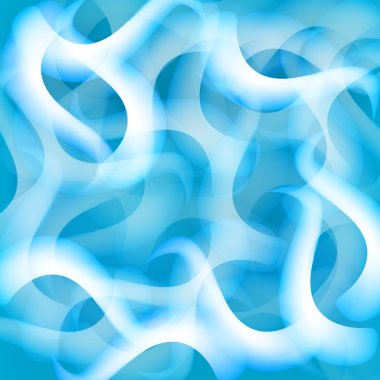 blue cube abstract backgrounds