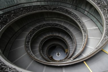 staircase at the vatican