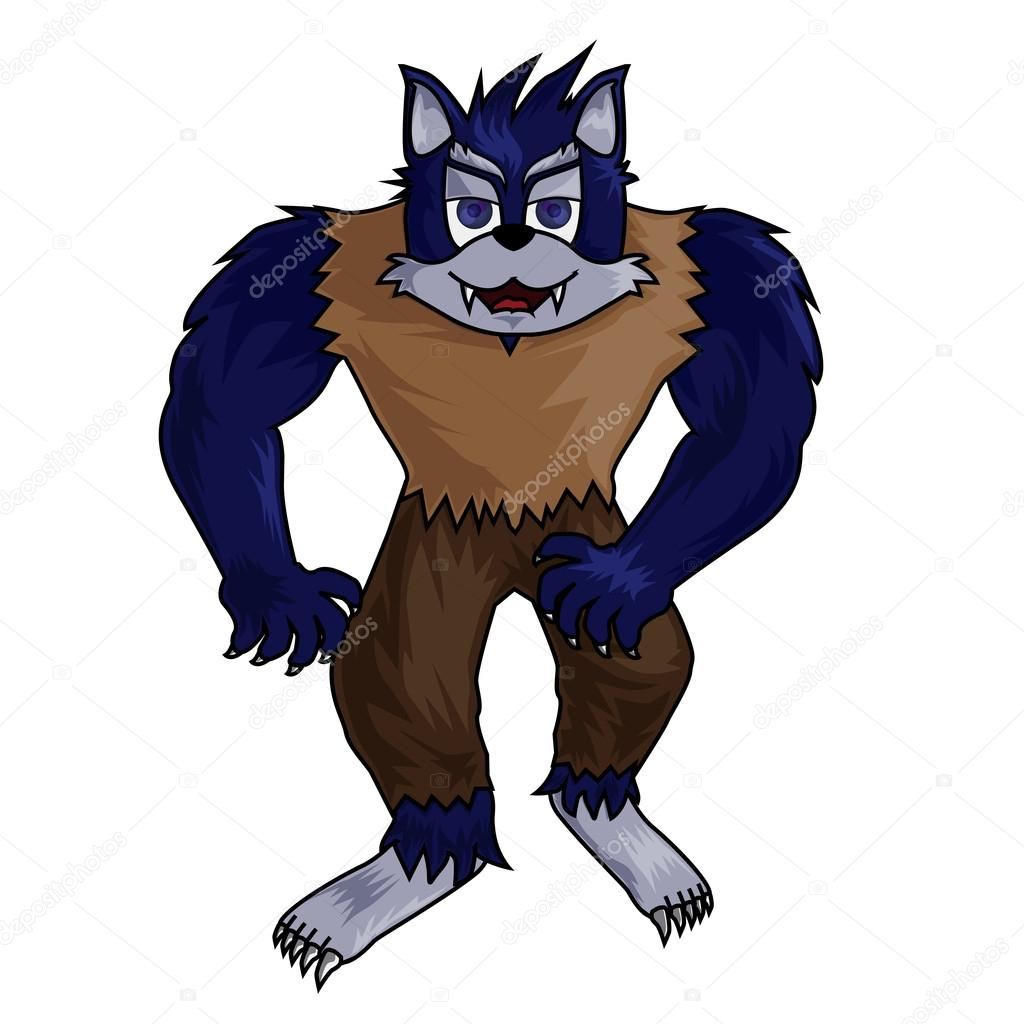 Cartoon Werwolf ClipArt — Stockfoto © kozzi2 #13525020