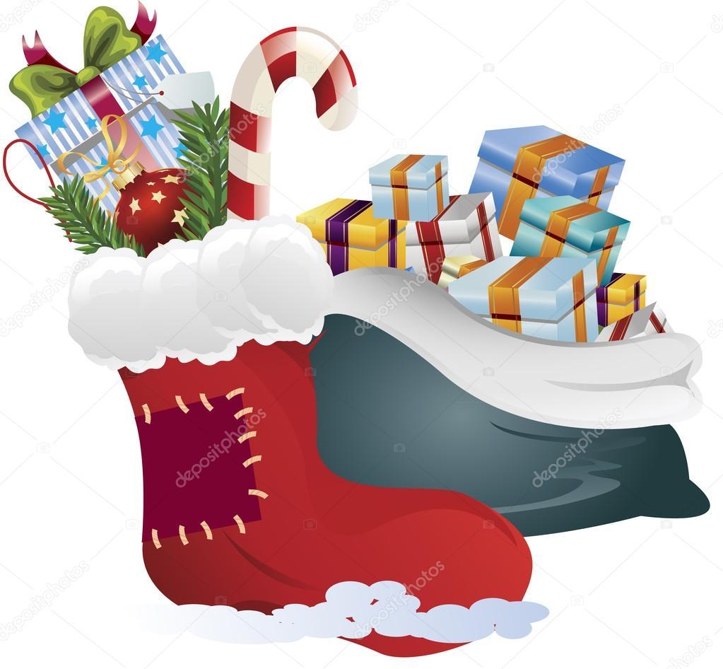 Weihnachtsgeschenke Clipart.Clipart Für Eine Weihnachtsgeschenke Stockfoto Kozzi2 13525348