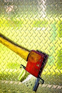 Fire truck axe