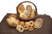 Rozmanité druhy chleba