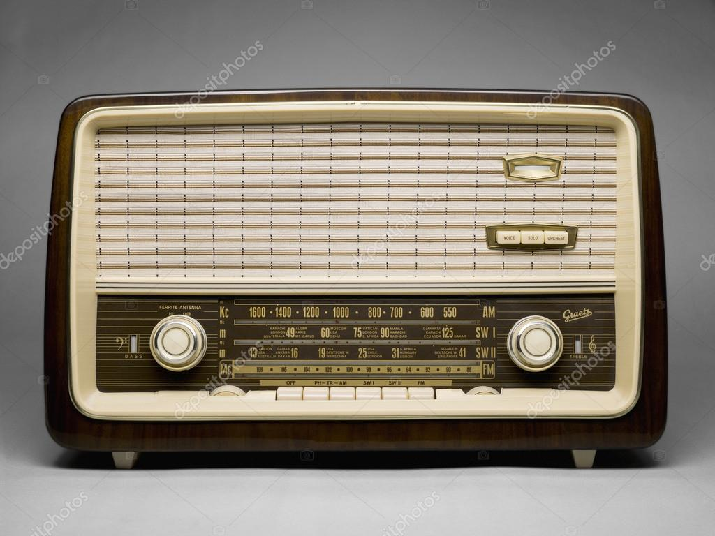 Old Radio Stock Photo, Picture And Royalty Free Image. Image 11296366.