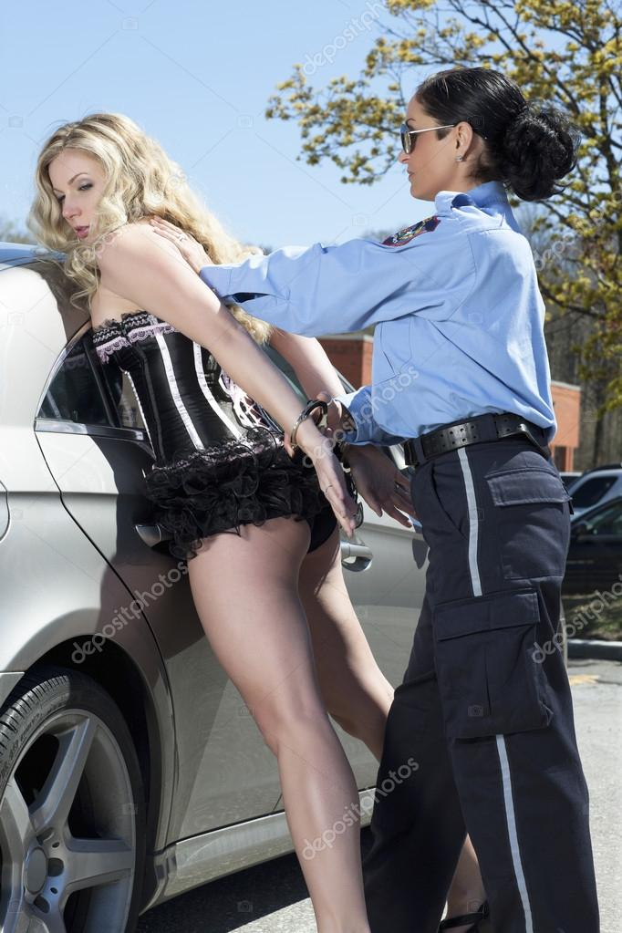 Woman cop arrest hot police first 7