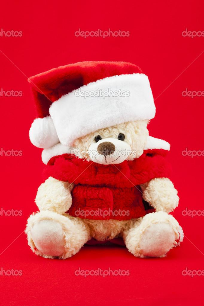 Teddy Weihnachten.947 Süß Weihnachten Teddy Bear Stockfoto Kozzi2 20238991