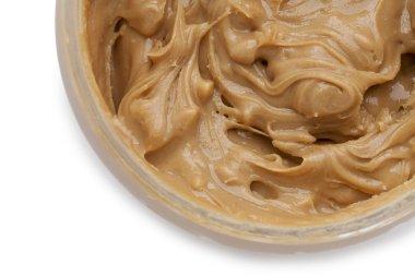 a jar of creamy peanut butter