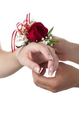 916 floral bracelet