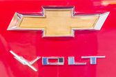 2014 chevolet volt elektrické auto logo