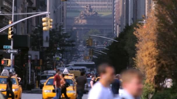 Street Traffic, NYC