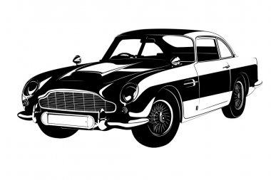 retro car 007