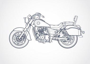 Harley vector illustration