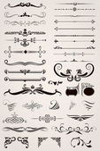 Elemente Dekorative Ornamente