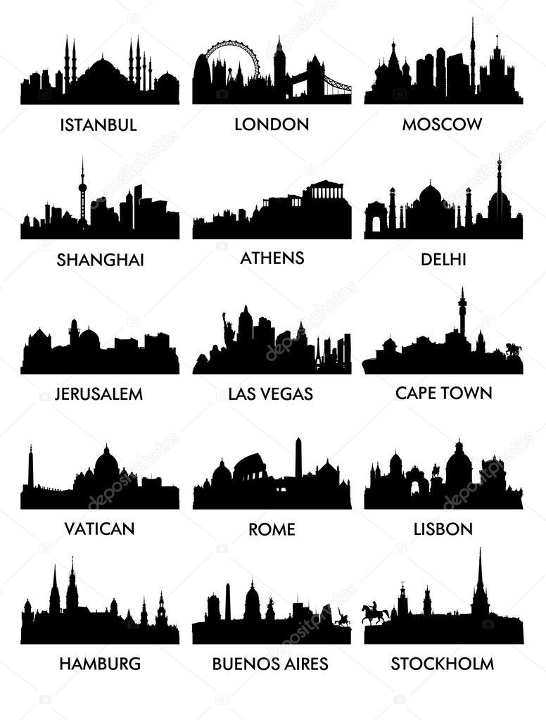 City silhouette vector 3 (15)