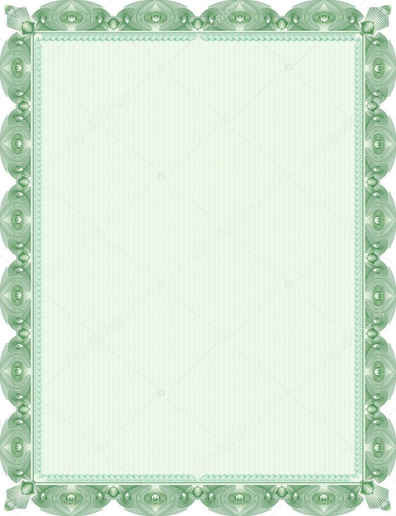 diploma de marco — Archivo Imágenes Vectoriales © ladoblede #13563810