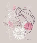 Szépség virág nő