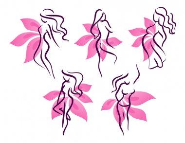 Stylized womans