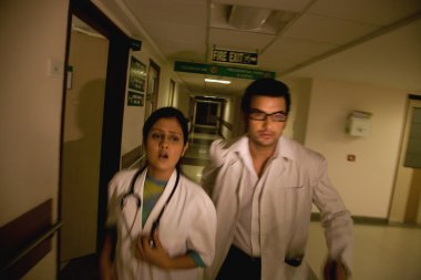 Doctors in a rush