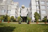 Fotografie Patient in a wheelchair